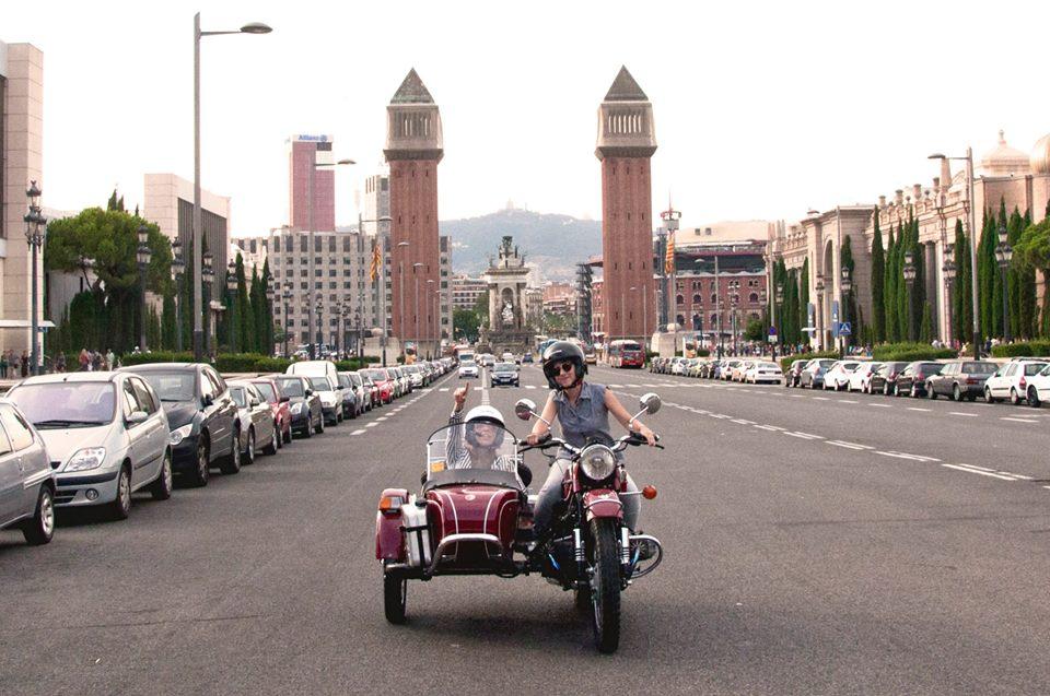 Descubre qué se siente pasear en un Sidecar Barcelona