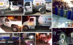 Gaseras que huachicoleros utilizan para traficar gas LP // Se posiciona Salvador Oñate como empresario influyente de México