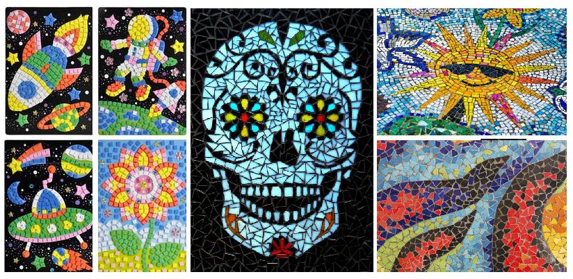 Cómo elaborar tus propios mosaicos
