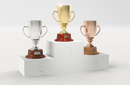 Con trofeos de ciclismo baratos se da un toque especial a las competencias